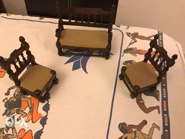 mini chairs decoration