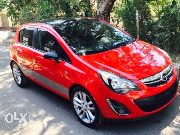 Opel Corsa 2014 full automatic شركة لبنان