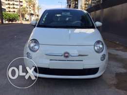 Company Origin Fiat 500 - Model 2012 - White/Red