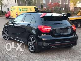 Mercedes A250 AMG-LINE 2013, Black-series, black on black, GERMAN !!!