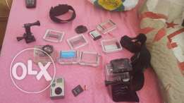 Gopro hero 2 with all accessories