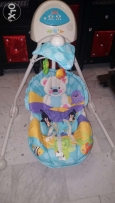 هزازة Baby cradle swing HAPPY PLANET Fisher price