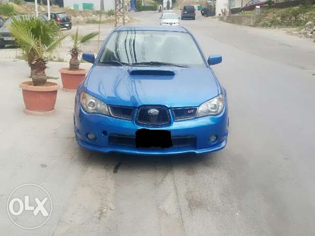 Subaru wrx sti model 2006 price 10000 $