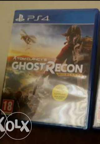 Ghost recon ps4 like new arabic super ndife 40$