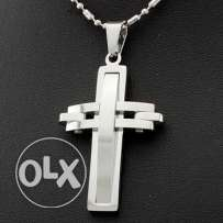 Stainless steel Cross pendant chain necklace (2 pictures) We deliver