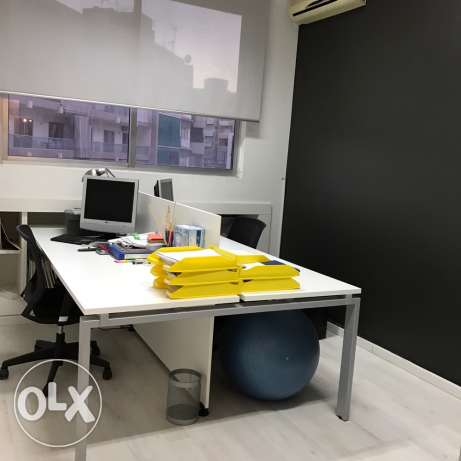 renovated office for sale in achrafieh