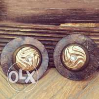 clip-on fashionable& vintage & trendy earrings