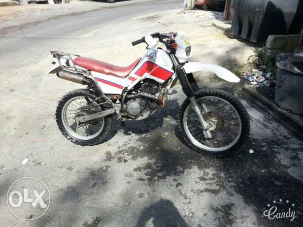 Moto cross serow
