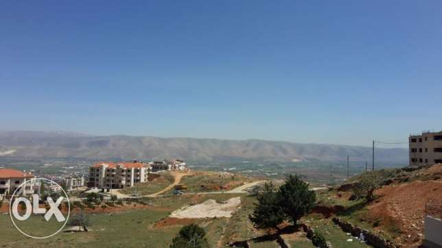 Zahle dhour fully decorated apartment with open view