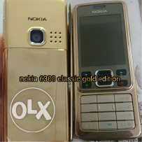 nokia 6300 classic gold edition like new