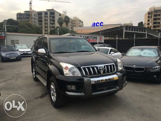 Toyota Prado VX 2009 Black Fully Loaded in Excellent Condition! بوشرية -  1
