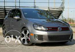 Volkswagen golf ( 6 ) GTI clean car fax. car loan available