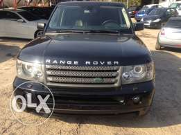 Range Rover sport year 2009 full option