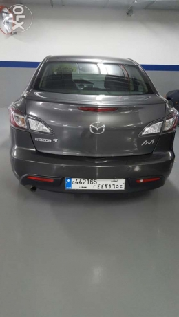 Brand new Mazda 3 2011 ; 53 km bought from ANB March 2011 زلقا -  1