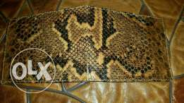 2 snake leathers wallet+ bellt from africa for sale
