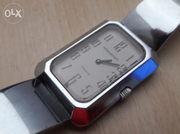 Vintage French ladies watch brand ANGUENOT manual from 1970's