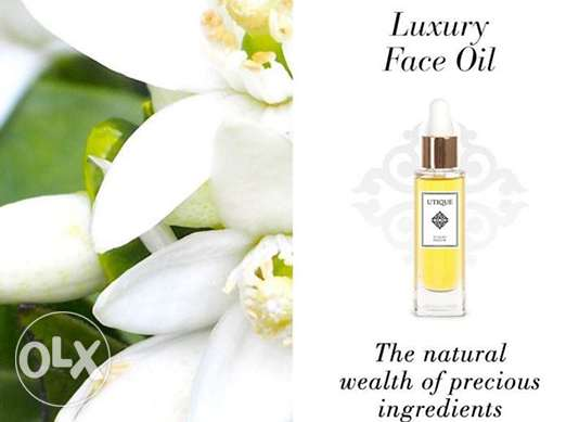 Luxury Face Oil and Fontainavie