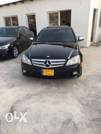 mercedes c300 look amg black in black camera 99000 miles original