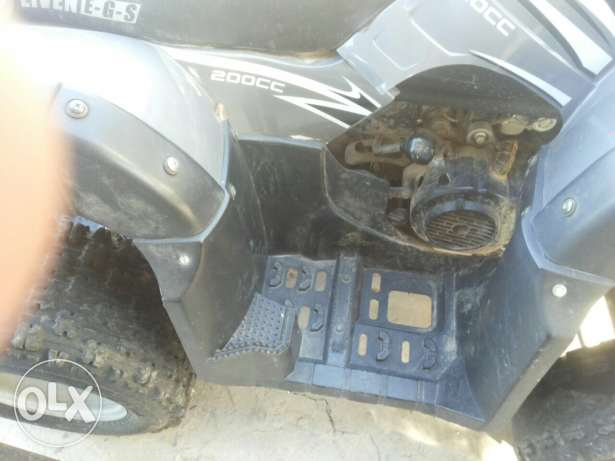 atv eiven200 cc automatique الكورة -  4