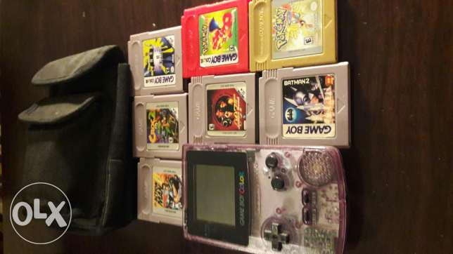 nintendo game boy color from 1990's - piece of collection