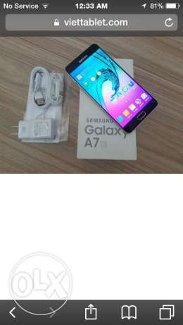 samsung a7 2016 ktir ndif with all accessories and box