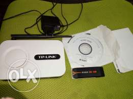 Wireless router tp link , and usb wireless adapter d link barely used