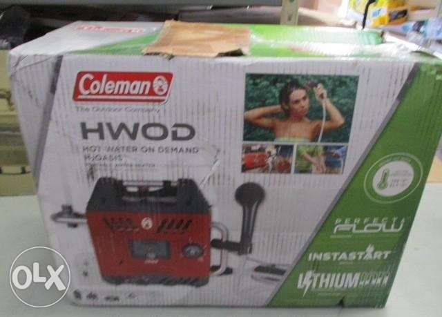 Coleman On Demand Portable Water Heater