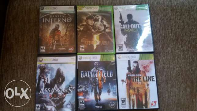 Cds for xbox 360