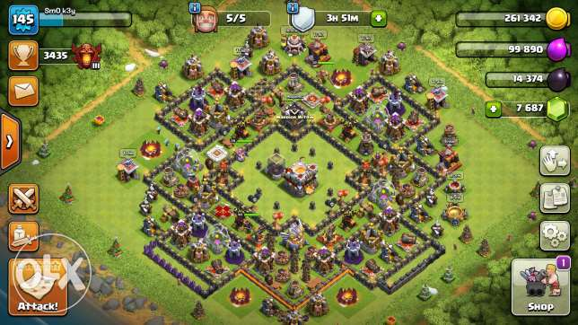 Clash of Clans TH11/7600/Name Change