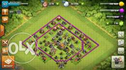 Clash of clans th 7 max fik t8ayr lesm