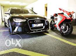 Audi RS6 - 2014 black on black full option
