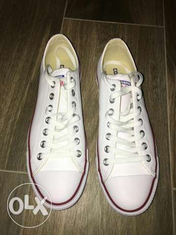 Converse white leather - New never used