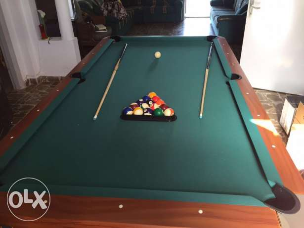 billard table like new rarely used for sale منصورية -  1