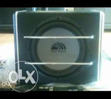 Realsound 600 watts subwoofer. Built in ampli