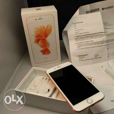 Brand new Apple iPhone 6s plus rose gold 128GB