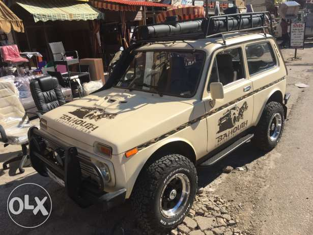 Lada Niva 1997 1.7 carburateur vitesse 5eme