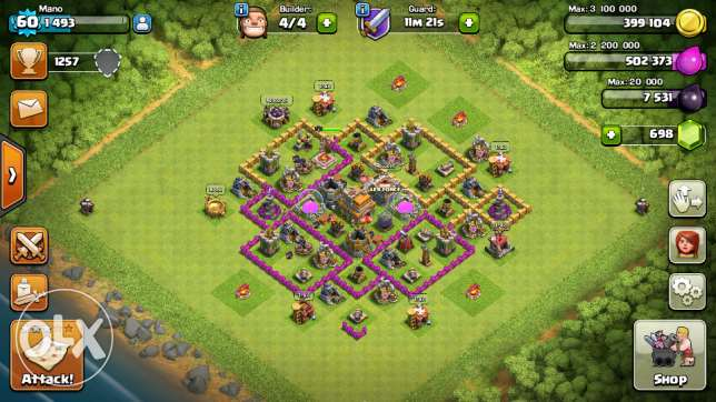 Clash of clans acc زغرتا -  1