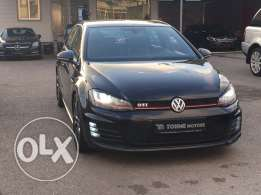 Volkswagen GTI 2014 black on black, 4 doors, leather ...