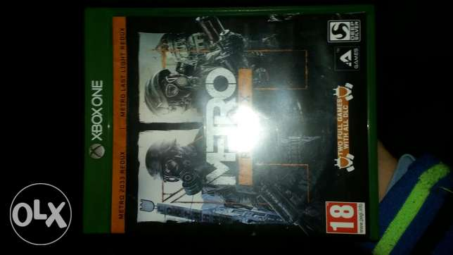 Xbox one game METRO redux (includes 2 games)