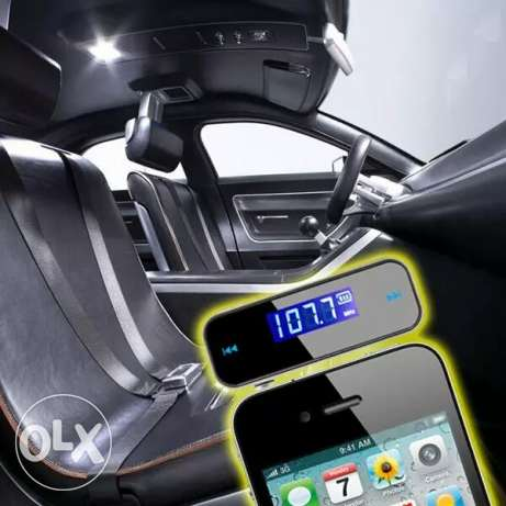Music Fm Transmitter( rechargeable) Form phone to Radio