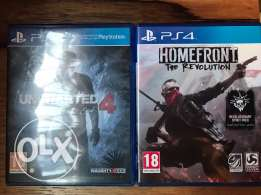 uncharted & homefront