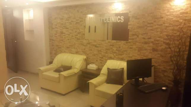 Clinic for rent الشياح -  2