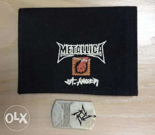 Metallica Wallet With Dog Tag For Sale!