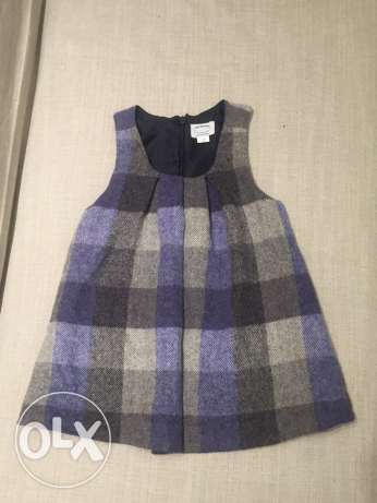 100% wool dress 2year-girl, made in Italy