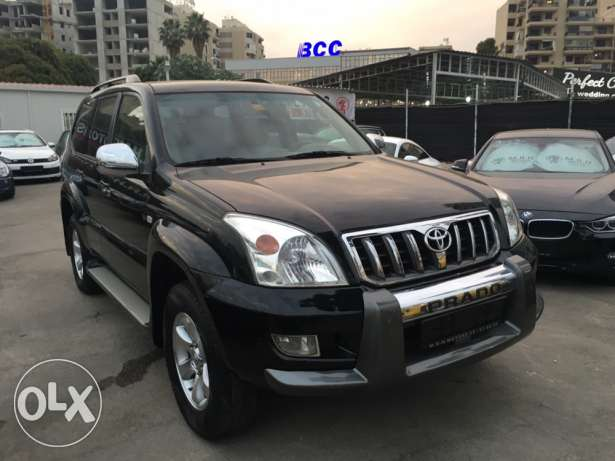 Toyota Prado VX 2009 Black Fully Loaded in Excellent Condition! بوشرية -  7