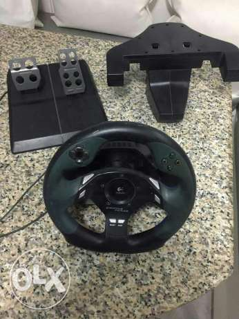 Logitech steering wheel , used like new [11/26, 1 بعبدا -  1
