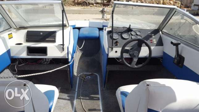 Bayliner American 4 cyl 3.0 mercruiser with lifetime parking المرفأ -  6