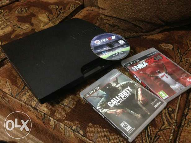 PS3 with original CDs