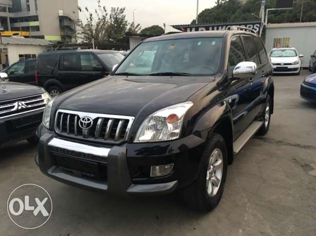 Toyota Prado VX 2009 Black Fully Loaded in Excellent Condition! بوشرية -  6