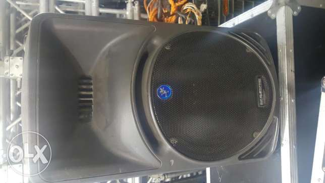 "Speakers 12"" amplifie"